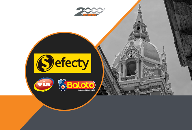 2000Charge helps you attract more customers from Colombia!